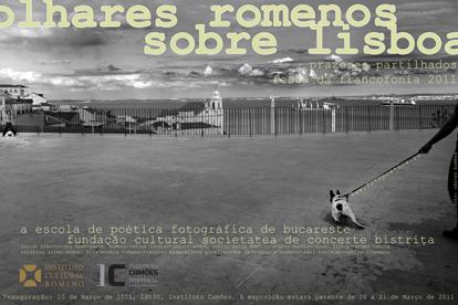 Afis Expozitie Lisabona fotopoetica Mraz gyuri ilinca