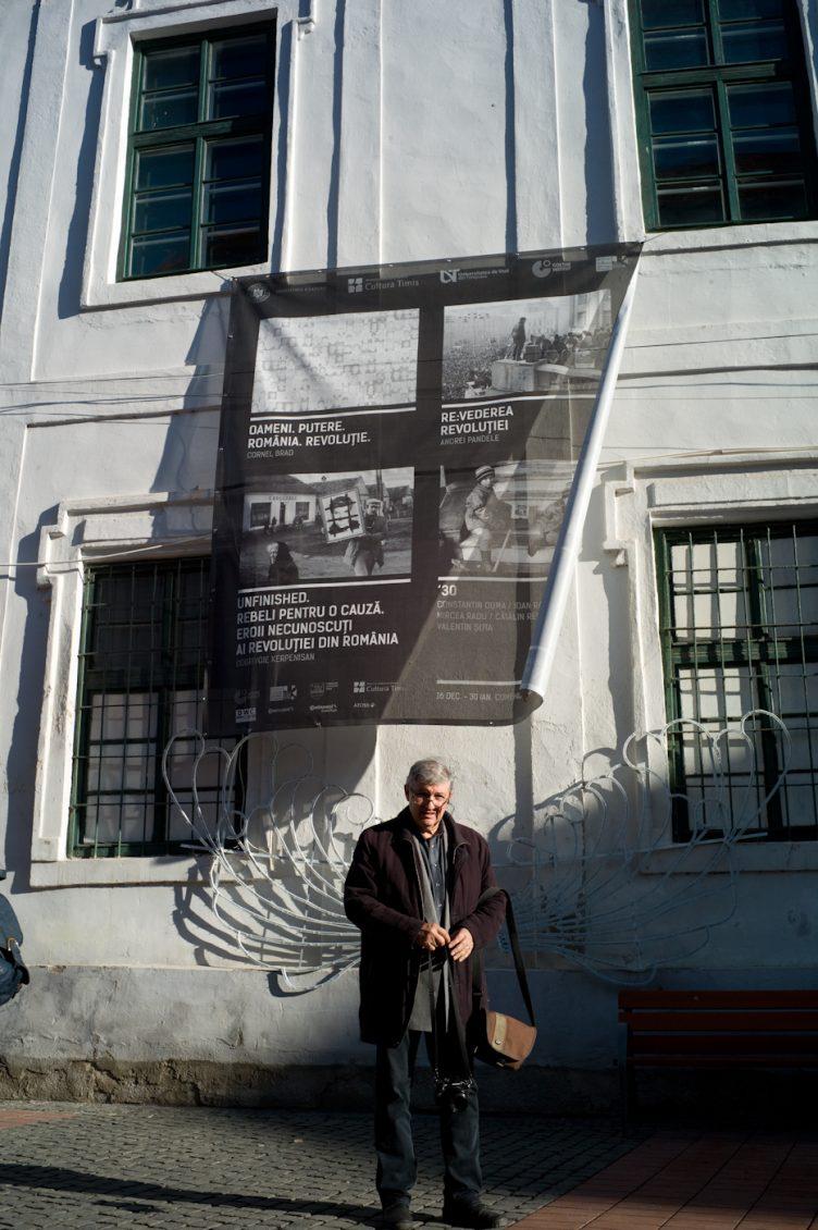 andrei pandele, revederea revolutiei, timisoara, 16 decembrie 2019.