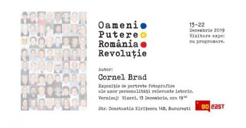 Oameni.Putere.România.Revoluție.Expoziție de portrete fotografice realizată pentru reamintirea momentelor Revoluției române din decembrie 1989.