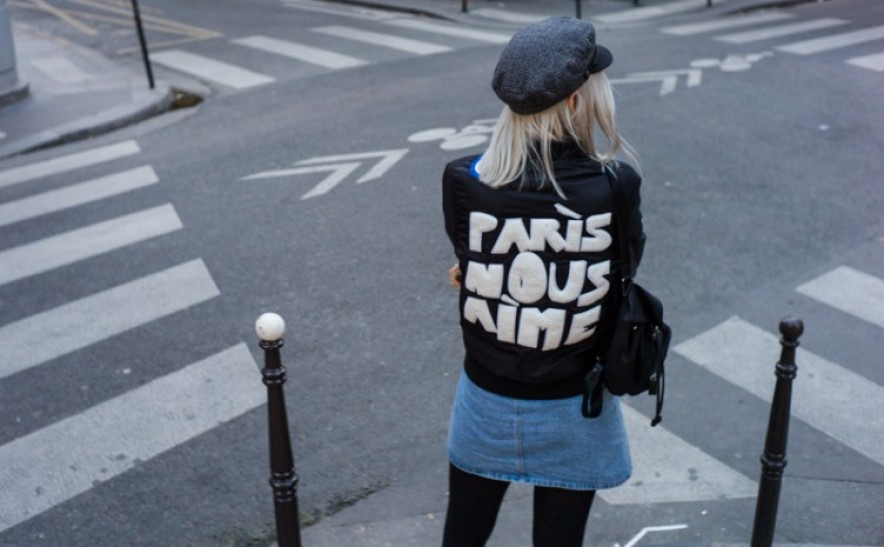 Paris nous aime. Les Halles, 13.11.2015