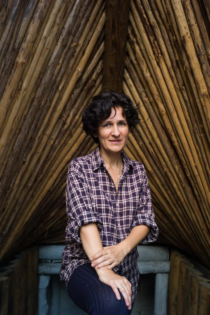 ana-maria goilav, architect , scoala de la bunesti , bunesti school