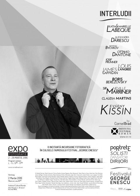 poster afis expozitie exhibition Interludes at ICR Bucuresti Bucharest