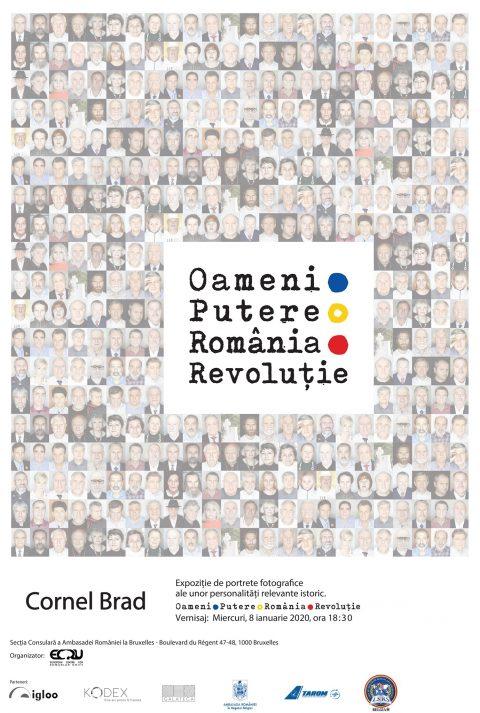 Expo Oameni.Putere.România.Revoluție. - 8 ianuarie 2020, Bruxelles