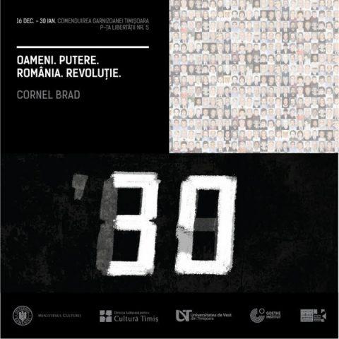 Expo Oameni.Putere.România.Revoluție. - 16 decembrie 2019, Timișoara